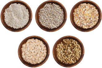 How many types of oats are there?