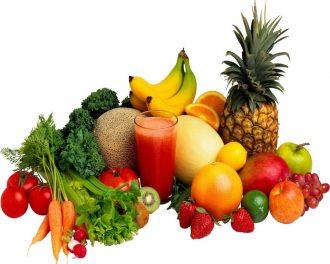 Fresh Raw Fruits Juice