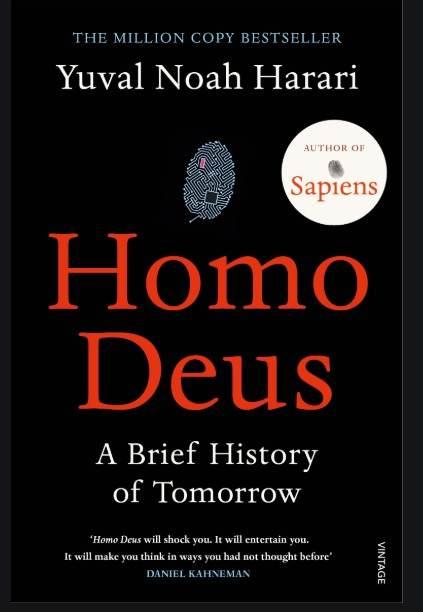 Homo Deus Uk Book Cover